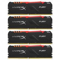 Комплект модулей памяти Kingston HyperX Fury RGB HX432C16FB3AK4/32 (4 шт, HX432C16FB3AK4/32)