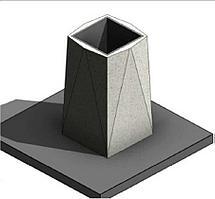 Урна из мраморного камня, модель: У-4