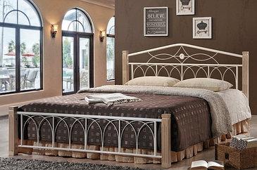 Кровать Миранда 1600*2000 ДЛ (крем)