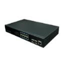 UTEPO UTP3-GSW0802S-MTP150 Коммутатор PoE, 8-портовый гигабитный управляемый с 2 слотами
