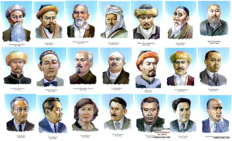 Плакат поэтов и писателей