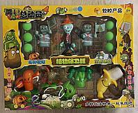 Набор фигурок растения против зомби Plants vs zombies (3 зомби , 5 растений, 6 боеприпасов)