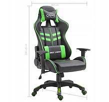 Кресло геймерское игровое VidaXL, фото 2