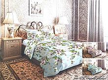 """Постельное бельё из бязи по Акции """"Аромат весны"""", размер 1,5 спальный"""