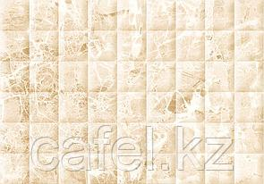 Кафель   Плитка настенная 28х40 Мэдисон   Madison бежевый рельеф