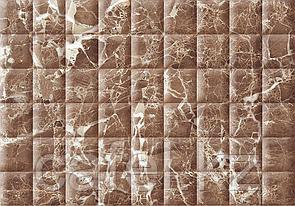 Кафель   Плитка настенная 28х40 Мэдисон   Madison коричневый рельеф
