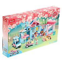 Конструктор Розовая мечта «Загородная вечеринка», 410 деталей