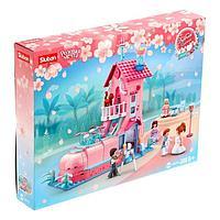 Конструктор Розовая мечта «Свадебный домик», 398 деталей