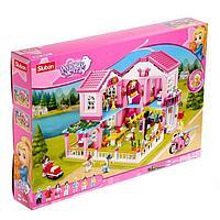 Конструктор Розовая мечта «Двухэтажная вилла», 896 деталей