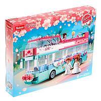 Конструктор Розовая мечта «Свадебный автобус», 379 деталей