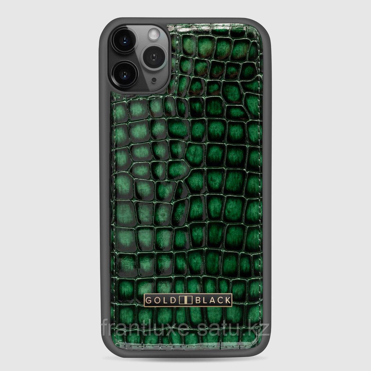 Чехол для телефона iPhone 11 Green - фото 6