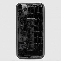 Чехол для телефона iPhone 11 Finger-holder Black