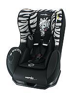 Автокресло NANIA COSMO SP Zebra Animals (c рождения до 4 лет)