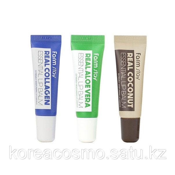 Суперувлажняющий бальзам для губ FarmStay Real Essential Lip Balm