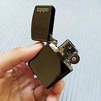 """Зажигалка """"Zippo"""" темно-серая, в подарочной коробке., фото 1"""