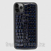 Чехол для телефона iPhone 11 Finger-holder Blue