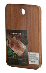 Доска разделочная деревянная бук 26*16*2 см.