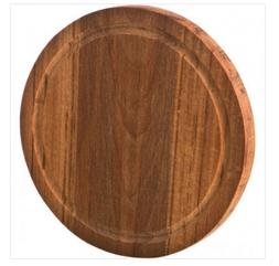 Доска разделочная деревянная круглая бук 30*2 cm