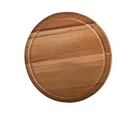 Доска разделочная деревянная круглая бук диаметр=25 см. толщина=2 см