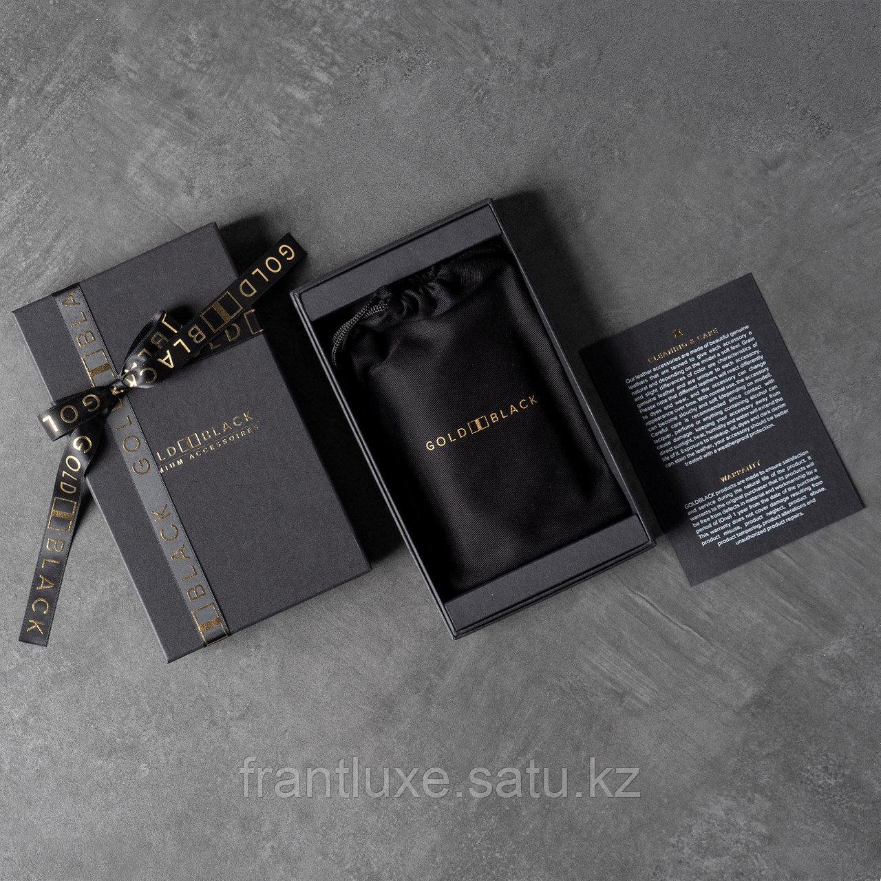 Чехол для телефона iPhone 12/12 Pro Croco Black - фото 5
