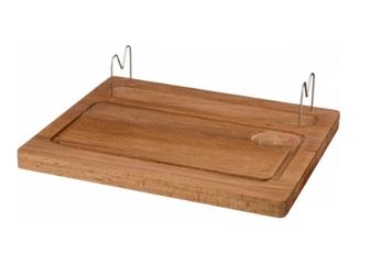 Доска деревянная для шашлыка 36*30 см.,