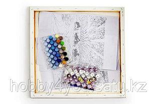 "Картина по номерам  ""Пуанты и роза"" 40х50 см, фото 2"