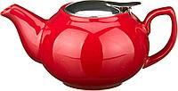 Заварочный чайник с металлической крышкой 600 мл
