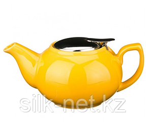 Заварочный чайник с металлической крышкой 600 мл.