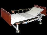 Кровать медицинская функциональная 4-х секционная «MCF KM 04-02» механическая, с фиксированной высоты