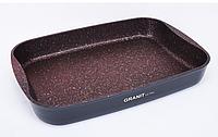 Противень 33,5 x 22 x 5,5 см, красный «Granit Ultra» (Кукмара, Россия)