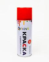 Аэрозольная краска Nova 450 мл универсальная красный