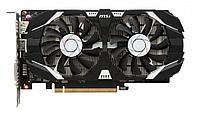 Видеокарта MSI GeForce GTX1050Ti, 4Gb GDDR5 128bit 1xDVI-D 1xHDMI 1xDP, GTX 1050 Ti 4GT OCV1