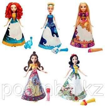 """Кукла Disney Princess """"Принцесса в юбке"""", с проявляющимся принтом"""