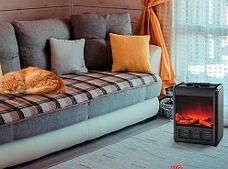 Электрокамин с эффектом живого огня Теплый дом Зимняя распродажа!, фото 2