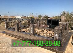 Оградки на кладбище 17