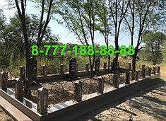 Оградки на кладбище 10