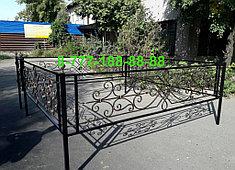 Оградки на кладбище 2