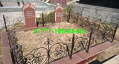Оградки на кладбище 28