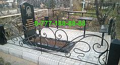 Оградки на кладбище 29