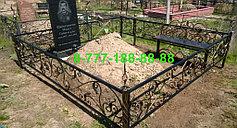 Оградки на кладбище 14