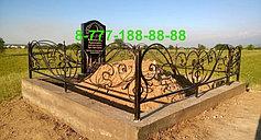 Оградки на кладбище 11