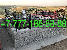 Оградки на кладбище 6