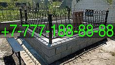 Оградки на кладбище 27