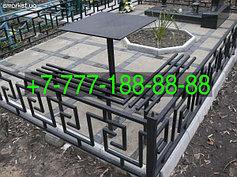 Оградки на кладбище 36
