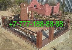 Оградки на кладбище 12