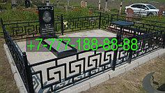 Оградки на кладбище 15