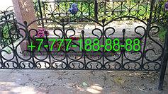 Оградки на кладбище 7