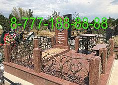 Оградки на кладбище 24