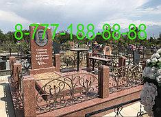 Оградки на кладбище 16