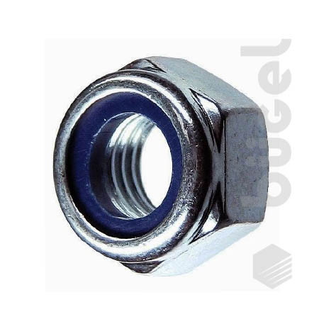 Гайка с нейлоновым кольцом DIN 985 М10